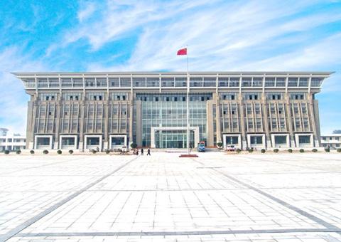 洛阳师范学院新校区办公楼-润衡基建财务软件客户案例13621038389